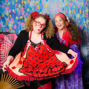 Flamen Clown avec La compagnie Lune à l'autre Spectacle de clown, musique, danse, pour enfant drome