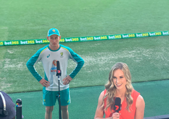 Live cross with Marnus Labuschagne
