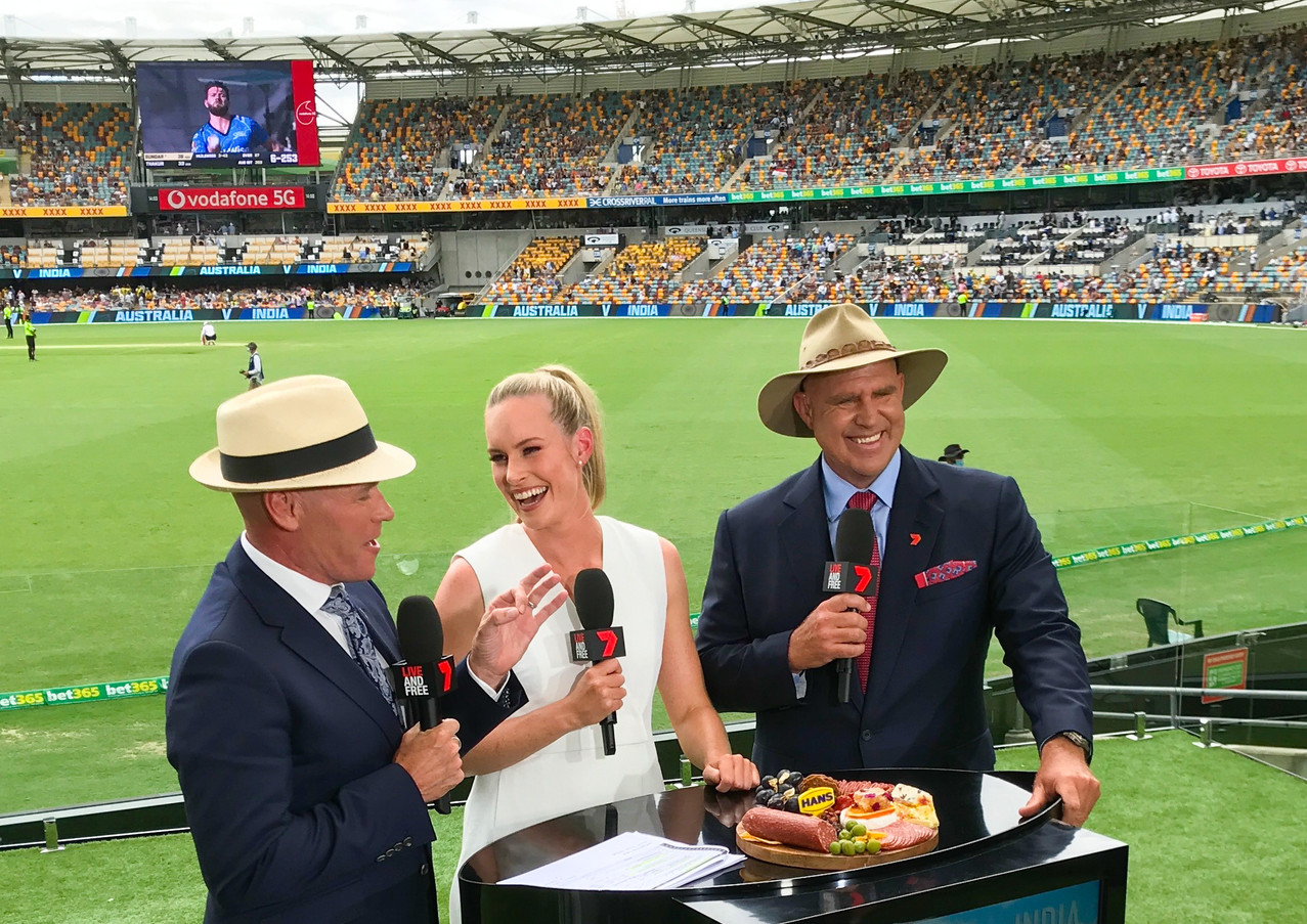 AUS v INDIA Test with Channel 7