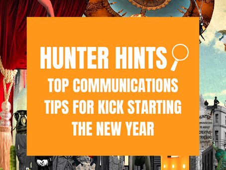 TOP COMMUNICATIONS TIPS FOR KICK STARTING THE NEW YEAR