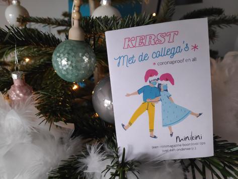 MINIZINE: Kerst vieren met de collega's (coronaproof en al!)