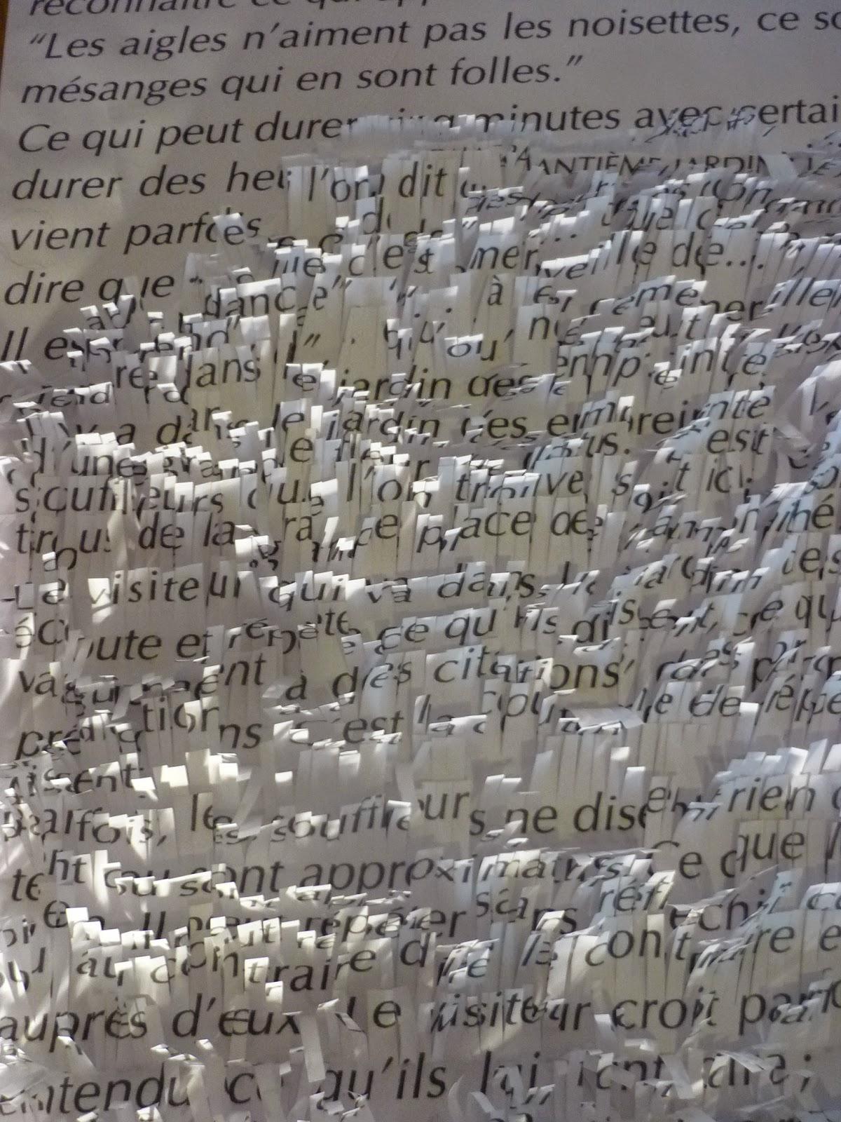 jardin de papier détail