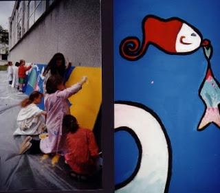 fresque aquatique