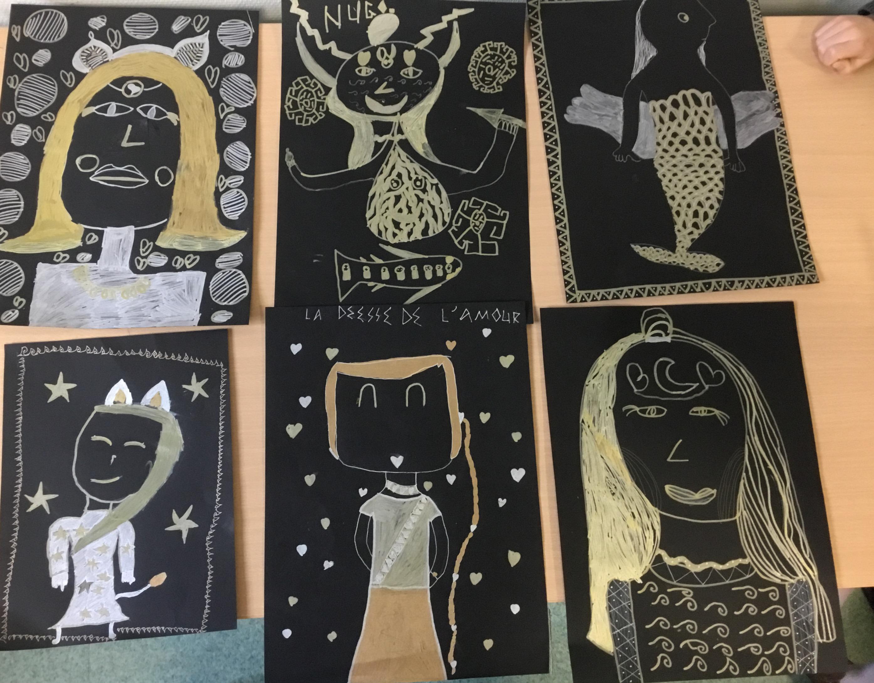 portraits mythologiques