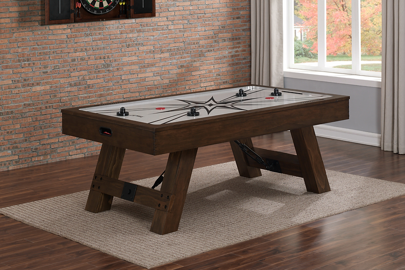 Rustic Air Hockey Table