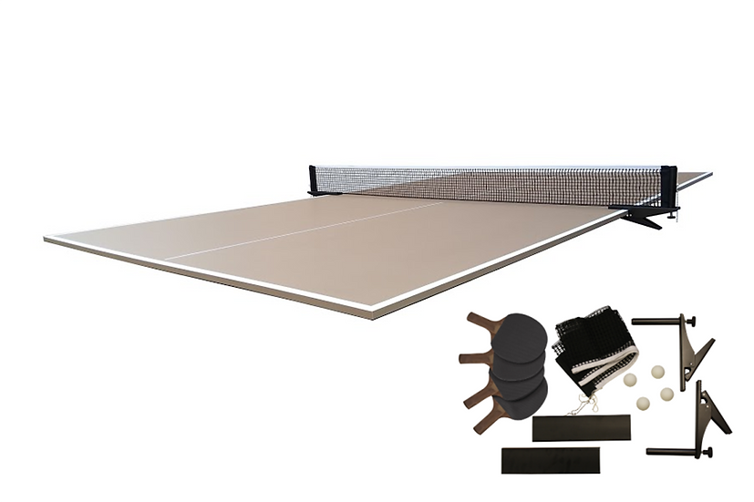 Table Tennis Conversion Top in Tan