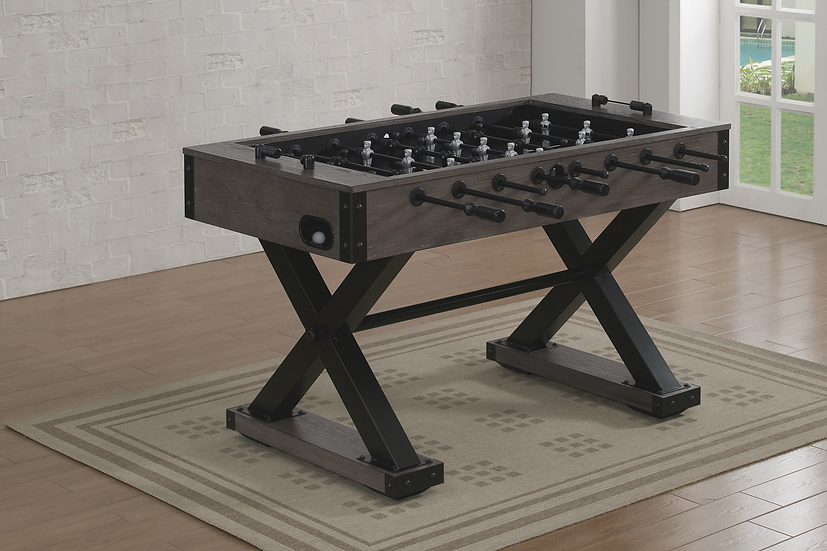 Xavier Foosball Table - Brown