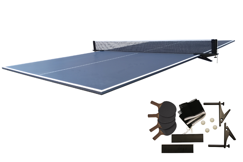 Table Tennis Conversion Top in Blue