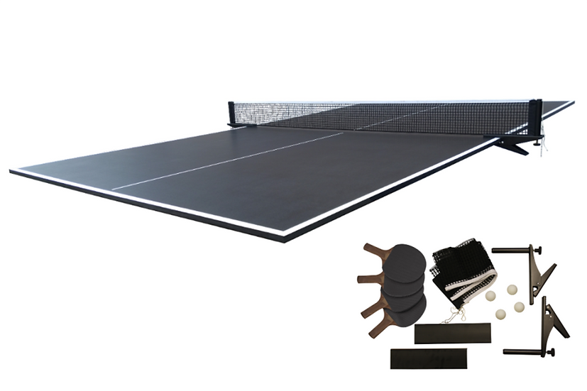 Table Tennis Conversion Top in Black