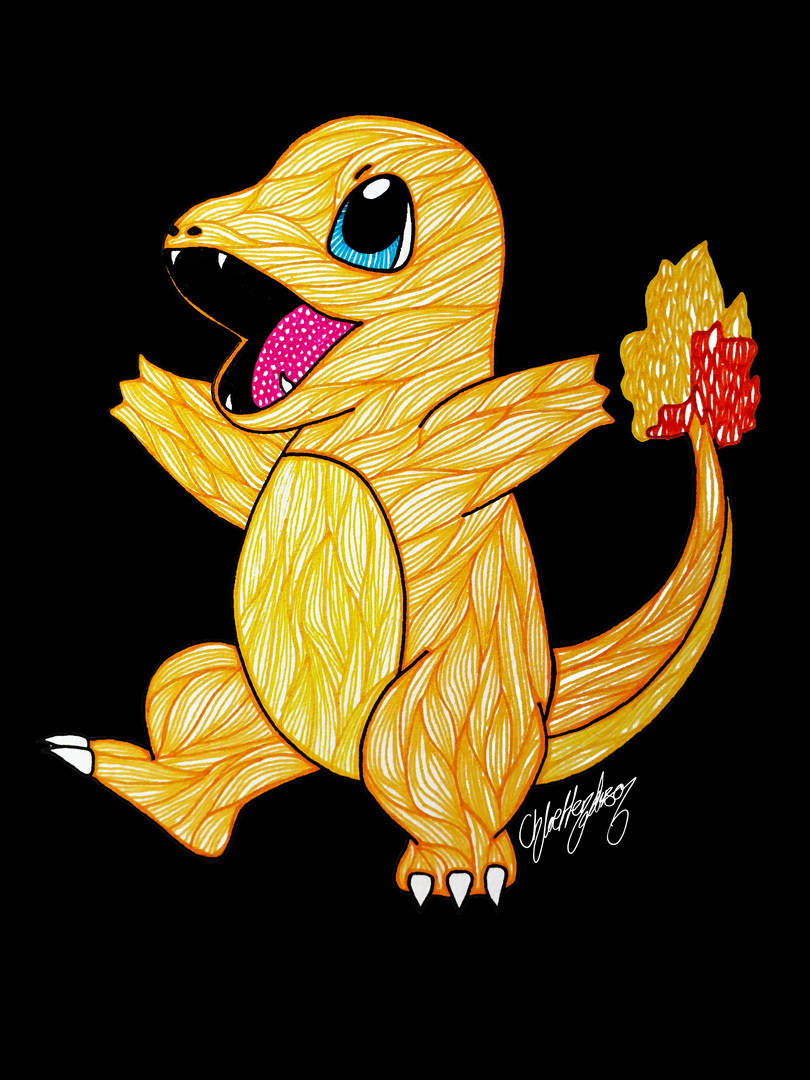 3. Roasted Charmander