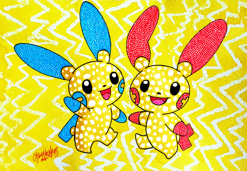 29. Double Plusle and Minun