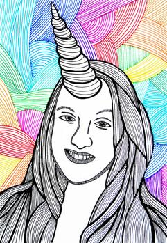 Rainbow Unicorn Sophie