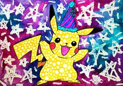 25 Party Hat Pikachu