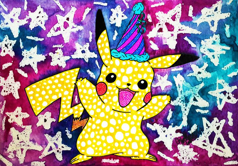 28. Gift Pikachu