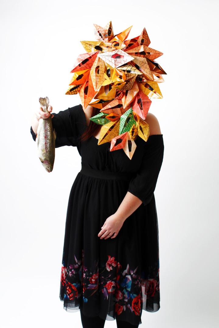 Trout Heart Replica by Chloe Henderson &