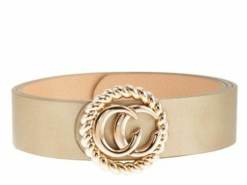 Soft Gold Buckle Belt
