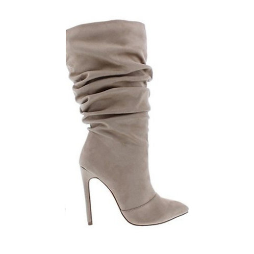 Nude Slouch Boots