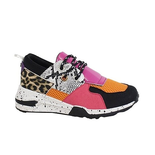 Multi Color Animal Sneakers
