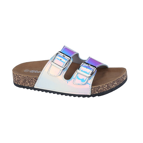 Purple Neon Hologram Slide