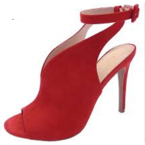 Red Wrap Around Heels