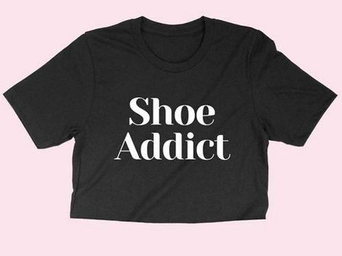 Shoe Addict Crop Tee