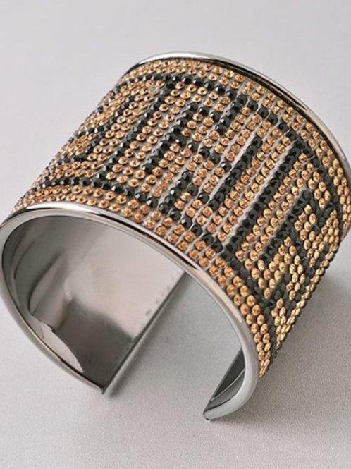 Black & Gold Cuff
