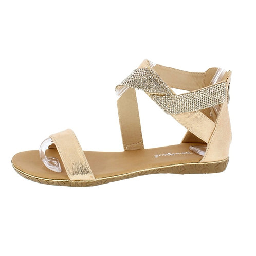 Gold / Bling Sandal