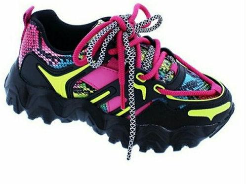 Multi-Color Chunky Sneaker