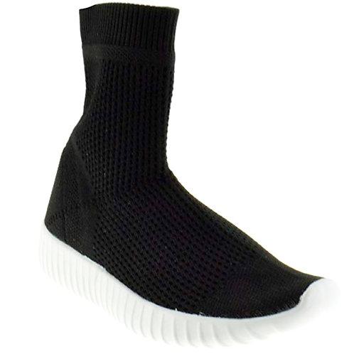 Knit Sock Flat Sneaker