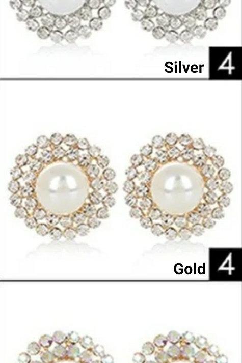 Dressy Pearl Earrings