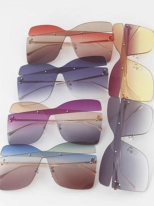 """Cross Color"" Sunglasses"
