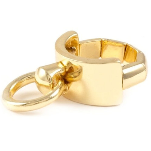 Gold Knocker Ring