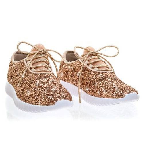 Rose Gold Sneaker (Toddler)