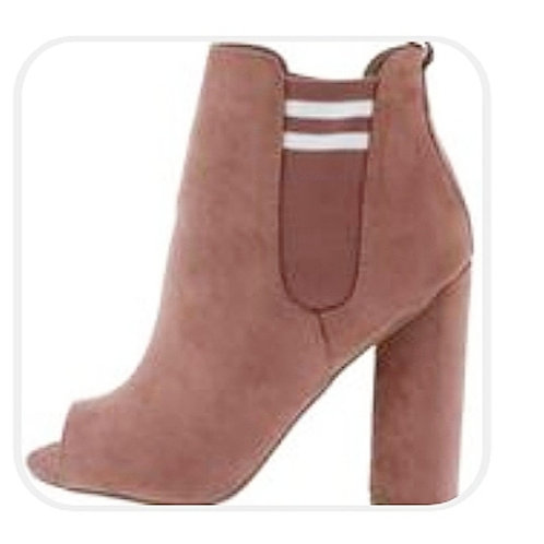 Blush Ankle Bootie