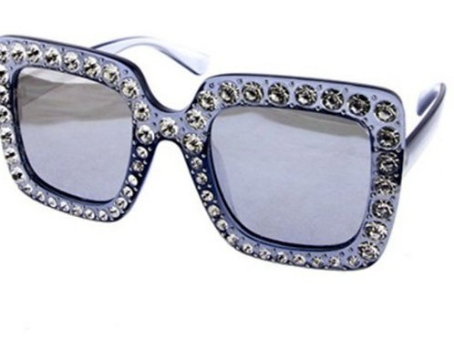 Big Rhinestone Sunglasses