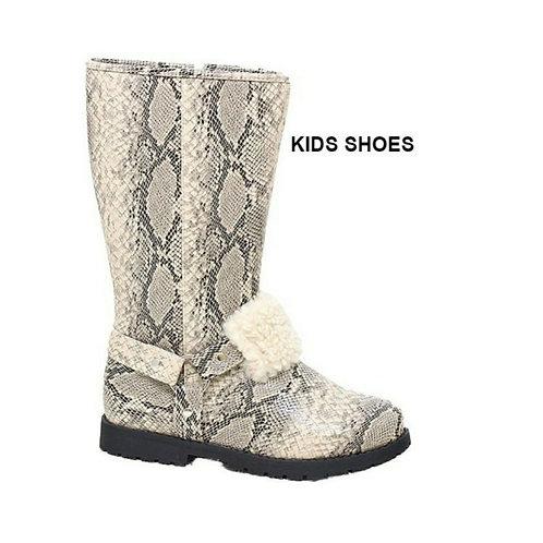 Girl Snakeskin Boots