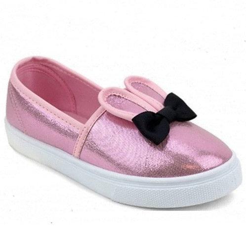 Pink Bunny Flat Sneaker