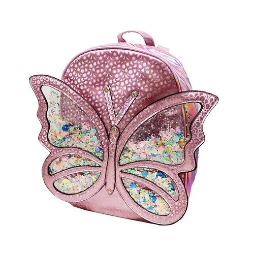 Hologram Butterfly Bookbag