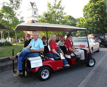 Parking Shuttle 6 Seat Golf Cart