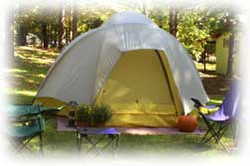 RV Parking and Tent Camping