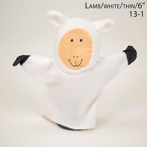 """Puppet: Lamb 6"""" (13-1)"""