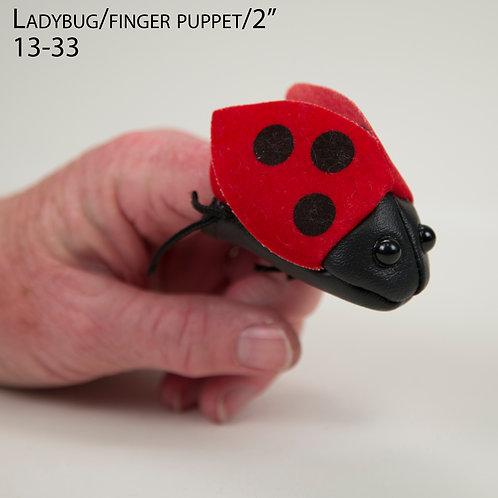 """Puppet: Ladybug 2"""" (13-33)"""