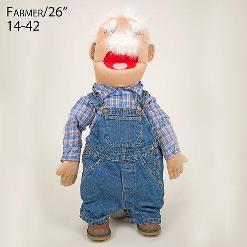 """Puppet: Farmer 26"""" (14-42)"""