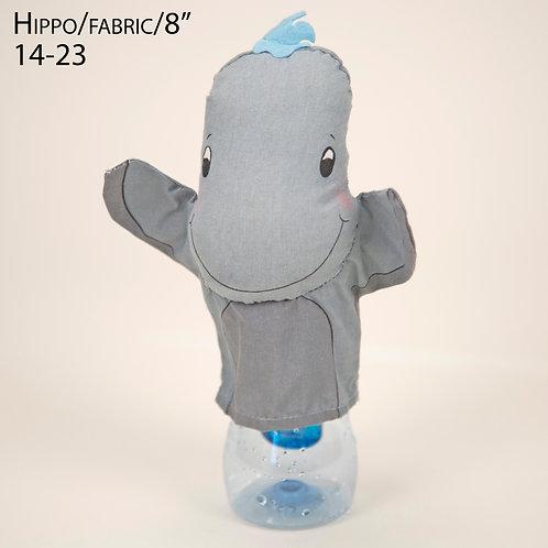 "Puppet: Hippo 8"" (14-23)"