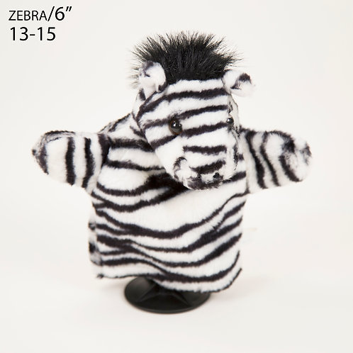 "Puppet: Zebra 6"" (13-15)"