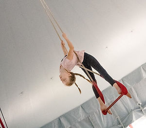 Performer on Trapeze