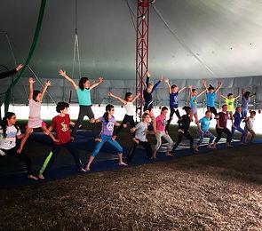 Youth Acrobatic Pyramid