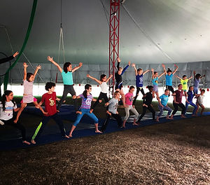 Youth Acrobatic Pyramid