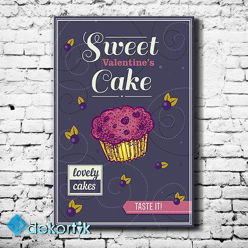 Vintage Sweet Cake Tablo