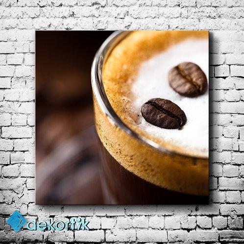 Kahve Çekirdek Kanvas Tablo